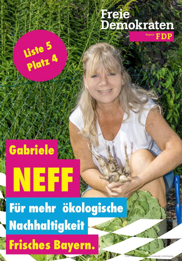 Plakat Gabriele Neff